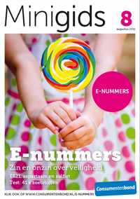 Gratis minigids over E-nummers van de Consumentenbond