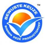 Logo Vinkje blauw verpakking