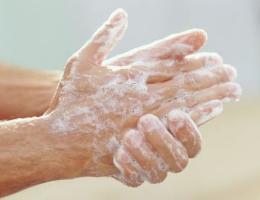 Handen wassen 2